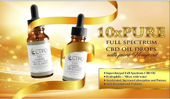 10xPure Full Spectrum CBD Oil